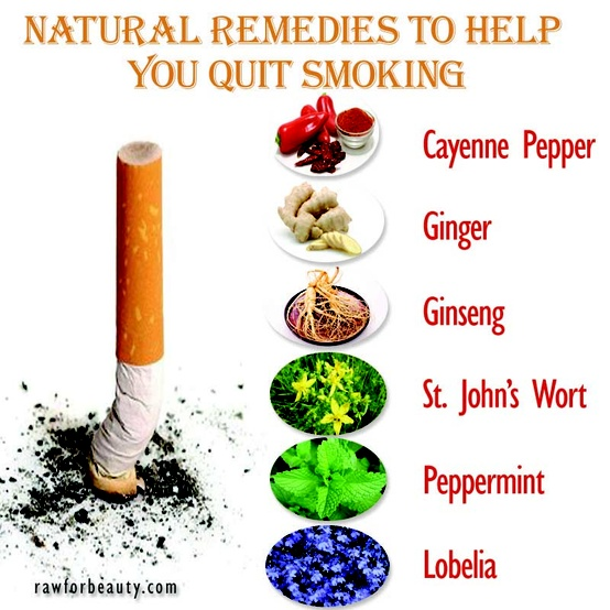 How To Stop Smoking Natural Remedies