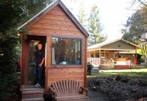 BOY - 16 Year Old Builds Tiny Home On Summer Job Salary.