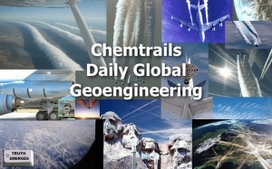 CHEMTRAILS - DAILY GLOBAL GEO-ENGINEERING. (TE)