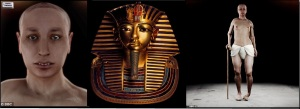 Tutankhamun - REAL FACE - The 'Virtual' Face of Pharoah Tutankhamun -FINAL TREBLE PHOTO